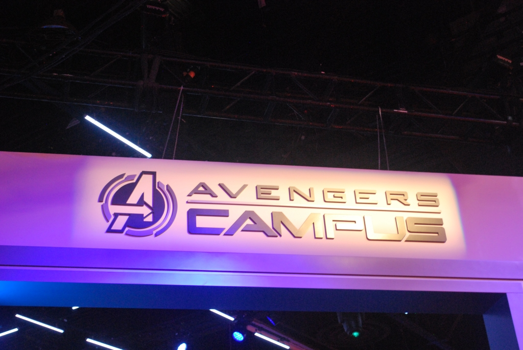 Marvel and Disney present Avengers Campus, coming to Disney's California Adventure and Disneyland Paris.