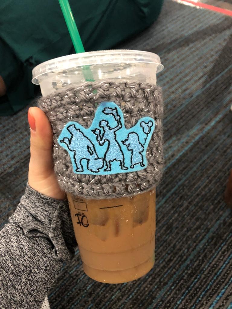 Disney coffee cozy by NeaterNoggin