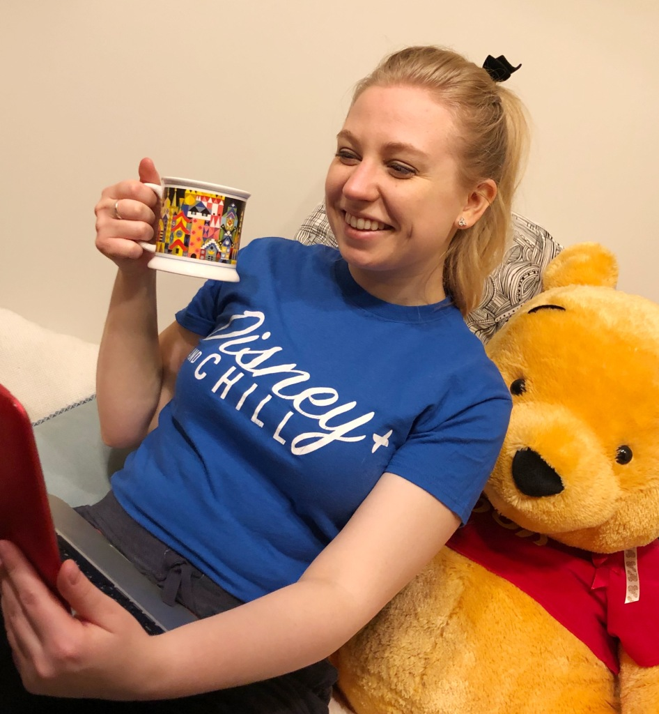 Disney+ and chill t-shirt available in the shop
