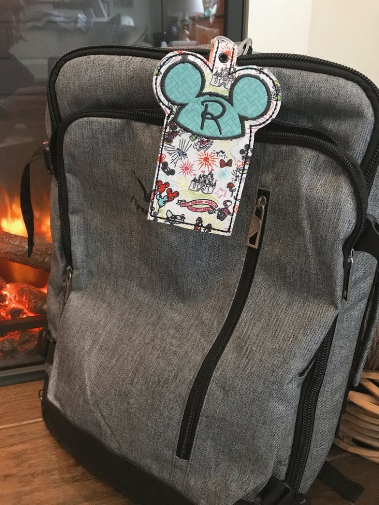 Disney Personalized Luggage Tags