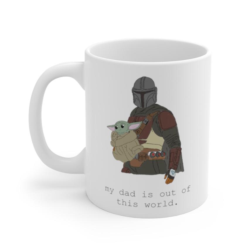Baby Yoda Mug - Father's Day