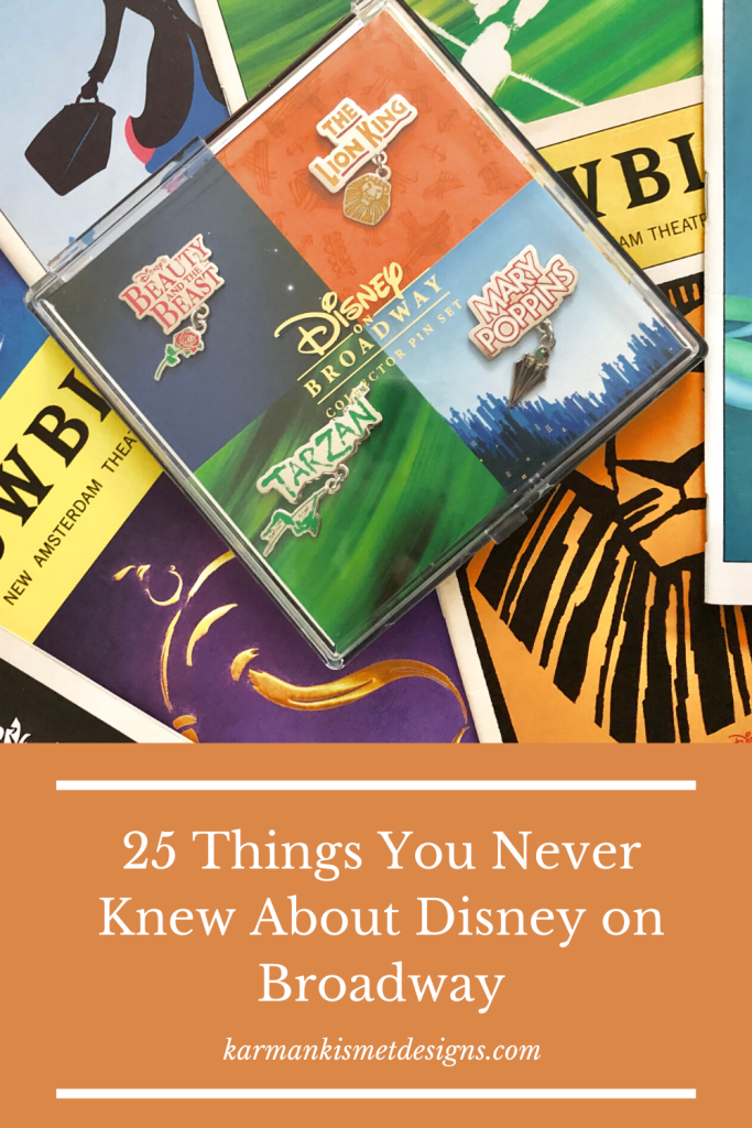 25 Disney on Broadway Facts